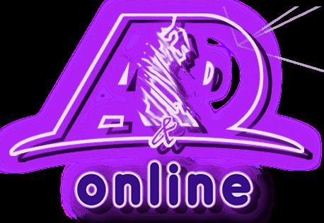 Logo A&D Online Neon